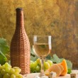 Stock Photo: White wine
