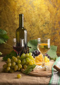 White wine still life — Stock Photo