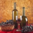 Stock Photo: red wine&quot