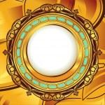 Gold vintage frame — Stock Vector #7353516