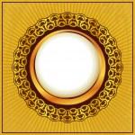 Gold vintage frame — Stock Vector #7725491