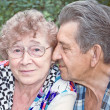 Fidelity of beautiful senior couple — Stockfoto