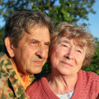 Stock Photo: Beautiful elderly happy couple