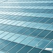 Background of transparent wall from glass ans steel construction — Stock Photo #6970564