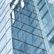 Perspective glass corner of office building — Stock Photo #6970692