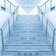 Modern staircase in office center — Stock Photo #7249625