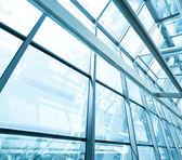 Telhado de vidro contemporâneo — Foto Stock