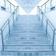 Modern staircase in office center — Stock Photo #7291687