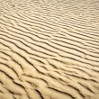 Puckered texture of sand beach — Stock Photo #7291901