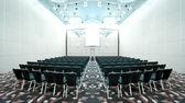 Wnętrze nowoczesną salę konferencyjną — Zdjęcie stockowe