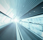 Wide angle of view to passenger transport — Stock Photo