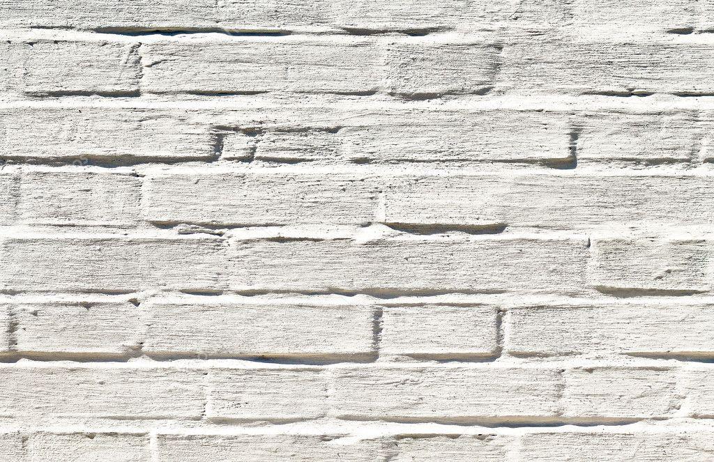 Ladrillo blanco textura de la pared foto de stock - Ladrillo caravista blanco ...