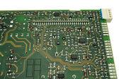 Electronic circuit board. — Stock Photo