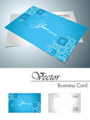 Vector corporate business card — Stock Vector