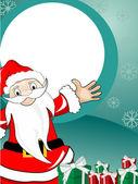 Vector merry christmas celebration template — Stock Vector