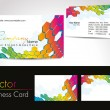 Vector professional business cards - Stock Vector