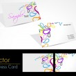 Vector abstract creative business cards — Stock Vector #7024828