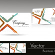 Professional business card — Vector de stock