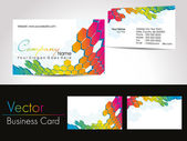Vector tarjetas profesionales — Vector de stock