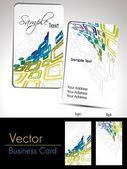 Modern artowrk design Business Card Collection — Stockvektor