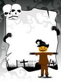 Spooky vector for halloween — Stock Vector