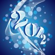 Royalty-Free Stock Vector Image: Vector greeting for new year celebration