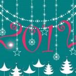 Creative design background vector for 2012 — Stock Vector #7185041