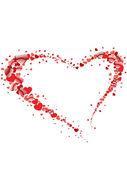 Tle miłości — Wektor stockowy