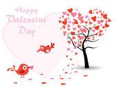 Vector creative art work for valentine's day — 图库矢量图片