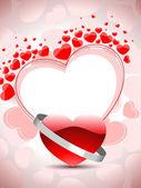 Vektör romantik arka plan — Stok Vektör