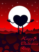 Felice san valentino — Vettoriale Stock