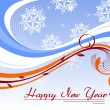 Creative artwork design vector for new year - Stock vektor
