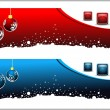 Set of headers or banners for Christmas & other occasions — Stock Vector