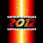 2012 New Year celebration background for cover, Flayer or poster — Stock Vector