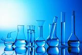 Chemische laboratoriumglaswerk — Stockfoto