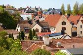 Visby stad på gotland, sverige — Stockfoto