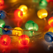 Colorful christmas background — Stock Photo #7661654