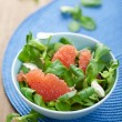 Fresh salad with grapefruit — Stock Photo
