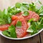Fresh salad with grapefruit — Stock Photo #7859395