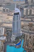 Beautiful view from the tower Burj Khalifa — Stock Photo