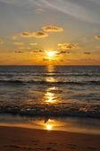 Vacker solnedgång i kata — Stockfoto