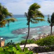 Perfect tropical sea landscape. island Isla Mujeres (Women Islan — ストック写真 #7733895