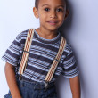 Handsome Young African American Boy — Stock Photo