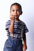 Stilig ung amerikansk pojke — Stockfoto
