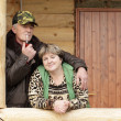 Portrait of middle-aged couple outdoor - Photo