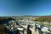Aerial view of Salzburg — Stock Photo