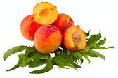 Peach fruits — Stock Photo