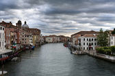 Venetian landscape. View of Canal Grande — Stock Photo