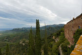 Old monastery in Spain. View from mountain — Stock Photo