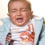 South Asian cute baby boy — Stock Photo